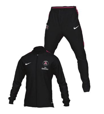 nike PSG PARIS SAINT-GERMAIN Trainingsanzug Herren schwarz