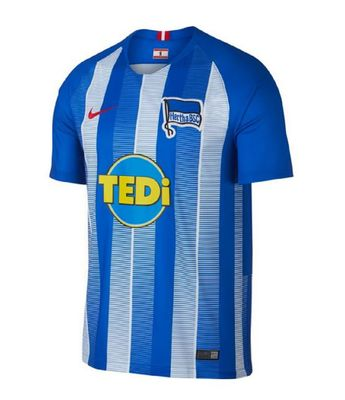 nike HERTHA BSC BERLIN Trikot Home Kinder 2018 / 2019 – Bild 1