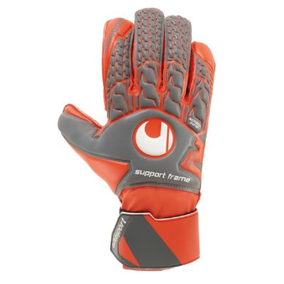 uhlsport AERORED SOFT SF TW-Handschuh orange-grau