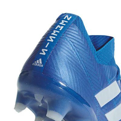 adidas NEMEZIZ 18.1 FG blau – Bild 3