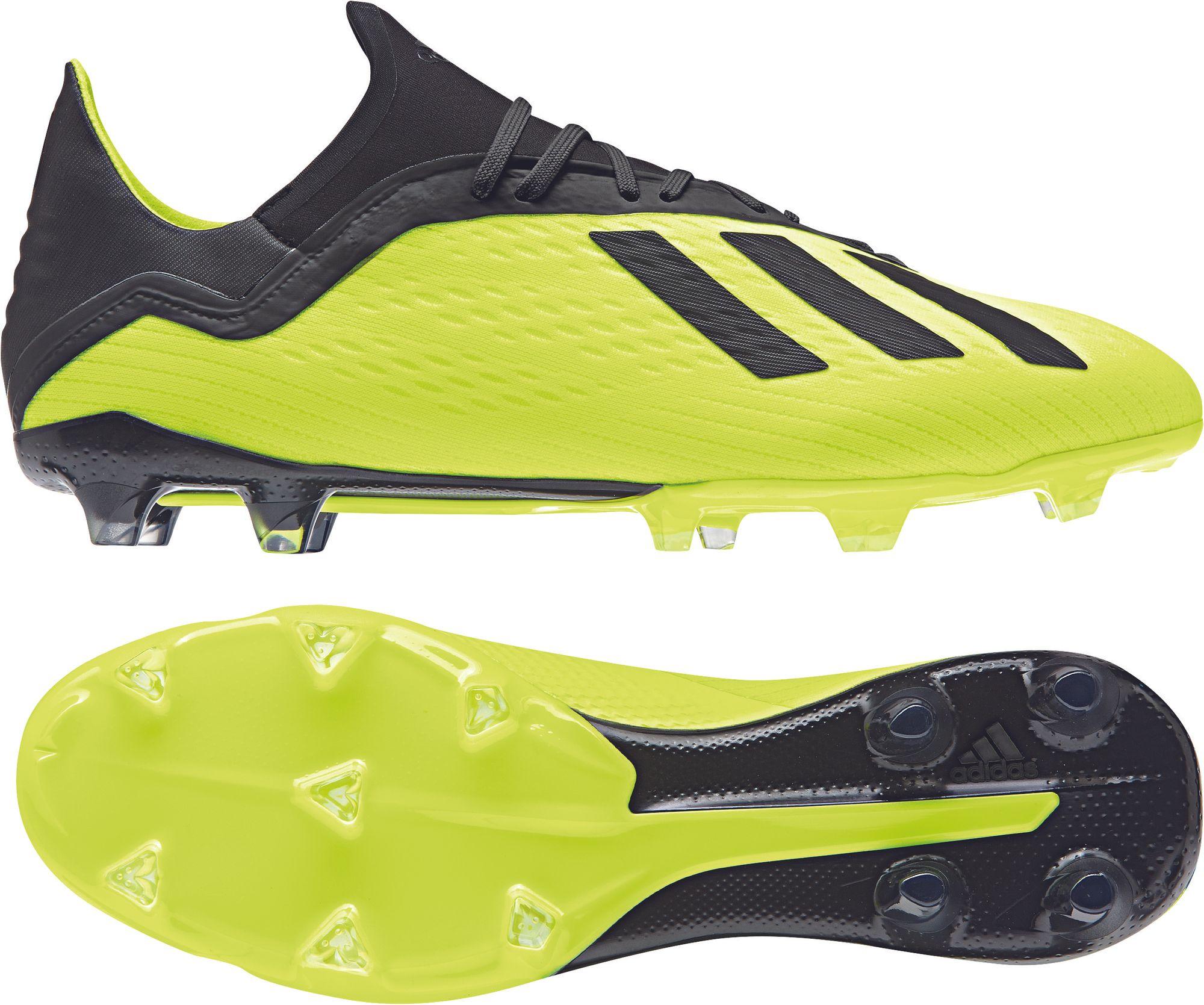sneakers for cheap 11175 860e6 adidas X 18.2 FG schwarz-gelb