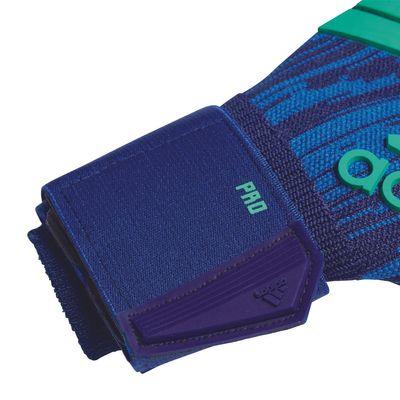 adidas PREDATOR PRO Torwart-Handschuhe blau – Bild 3