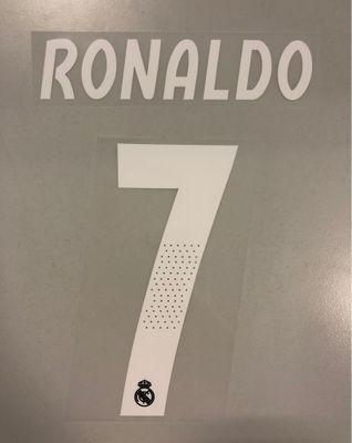 Original Real Madrid Trikot-Flock 17cm - RONALDO 7