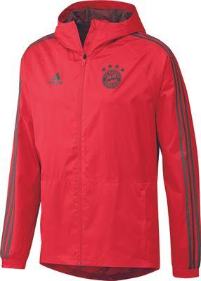adidas FC BAYERN MÜNCHEN Regenjacke Kinder rot – Bild 1