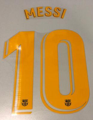 Original FC Barcelona Trikot-Flock 21cm - MESSI 10