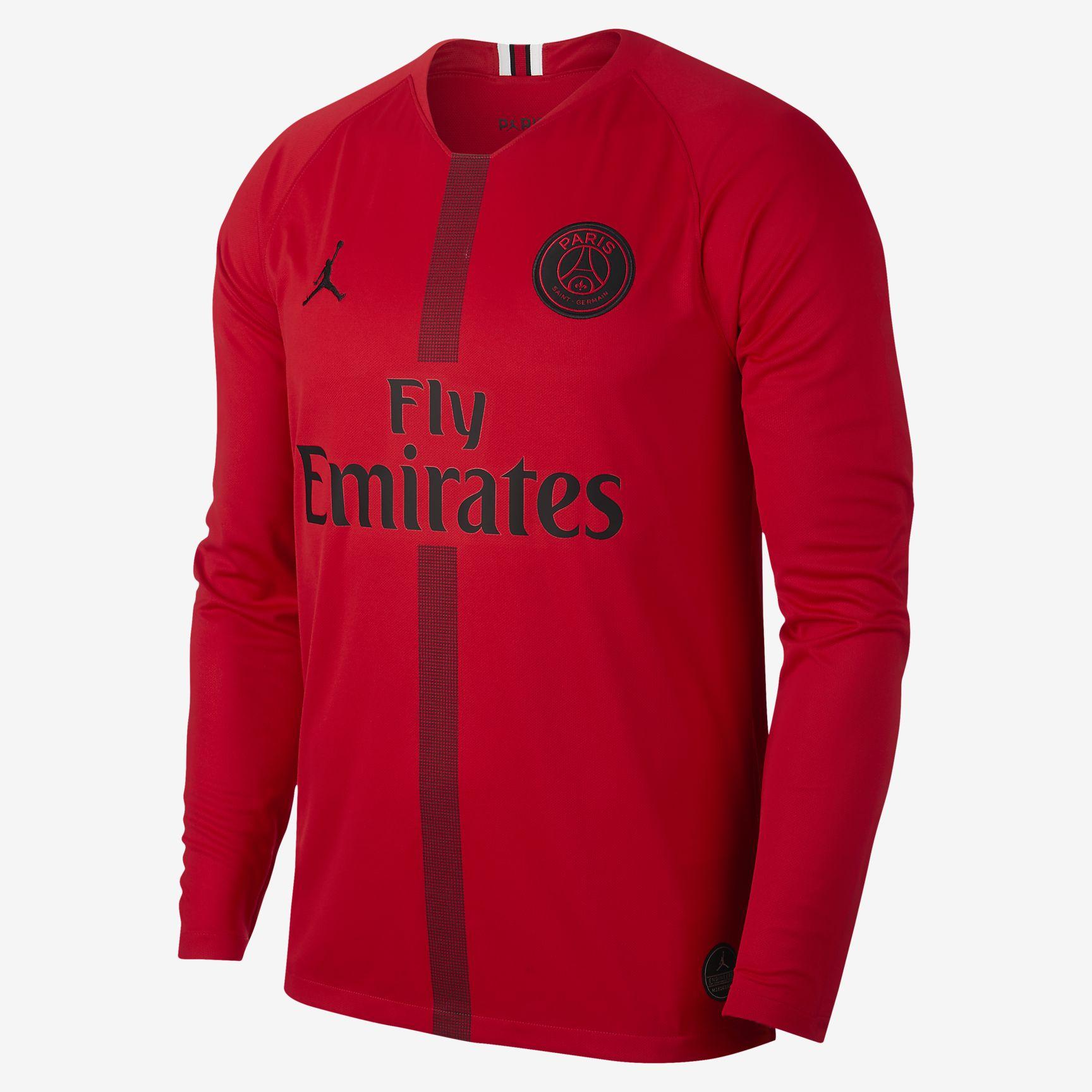 Nike Psg Paris Saint Germain Trikot Torwart Jordan Herren Rot 2018