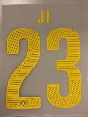 Original BVB Borussia Dortmund Trikot-Flock 17cm - JI 23