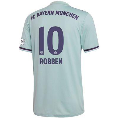 adidas FC BAYERN MÜNCHEN Trikot Away Kinder 2018 / 2019 - ROBBEN 10 – Bild 2