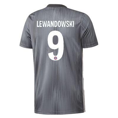 adidas FC BAYERN MÜNCHEN Trikot 3rd Herren 2018 / 2019 - LEWANDOWSKI 9 – Bild 2