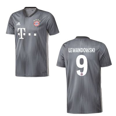 adidas FC BAYERN MÜNCHEN Trikot 3rd Herren 2018 / 2019 - LEWANDOWSKI 9 – Bild 1