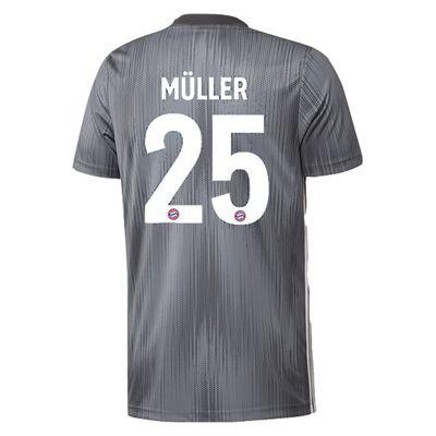 adidas FC BAYERN MÜNCHEN Trikot 3rd Herren 2018 / 2019 - MÜLLER 25 – Bild 2