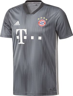 adidas FC BAYERN MÜNCHEN Trikot 3rd Kinder 2018 / 2019 - JAMES 11 – Bild 3