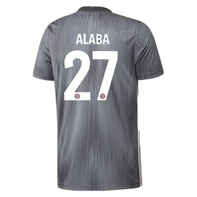adidas FC BAYERN MÜNCHEN Trikot 3rd Kinder 2018 / 2019 - ALABA 27 – Bild 2