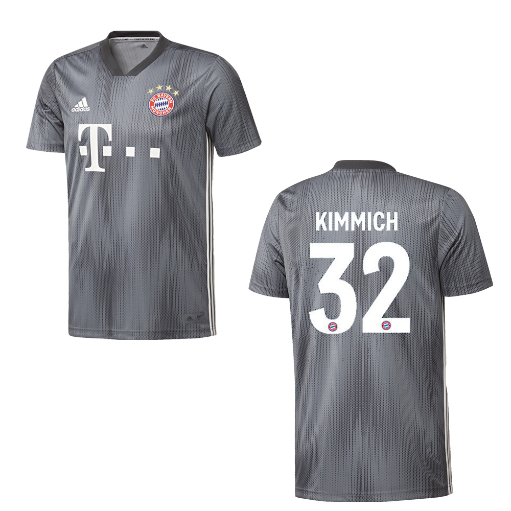 adidas FC BAYERN MÜNCHEN Trikot 3rd Kinder 2018 2019 KIMMICH 32