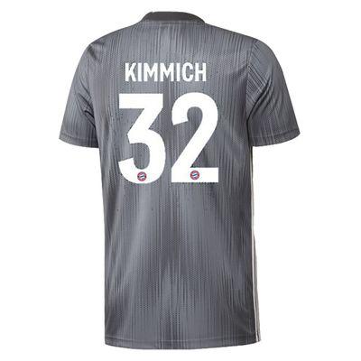 adidas FC BAYERN MÜNCHEN Trikot 3rd Kinder 2018 / 2019 - KIMMICH 32 – Bild 2