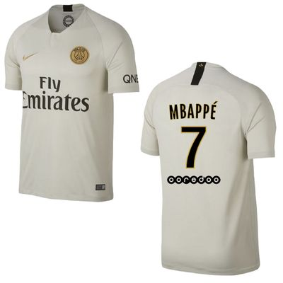 nike PSG PARIS SAINT-GERMAIN Trikot Away Kinder 2018 / 2019 - MBAPPE 7 – Bild 1