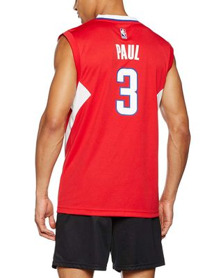 adidas NBA LOS ANGELES CLIPPERS Basketballtrikot Herren - PAUL 3 – Bild 2