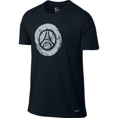 nike PSG PARIS SAINT-GERMAIN Fan T-Shirt Kinder blau