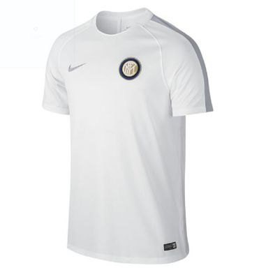 nike INTER MAILAND Trainingsshirt Kinder weiß