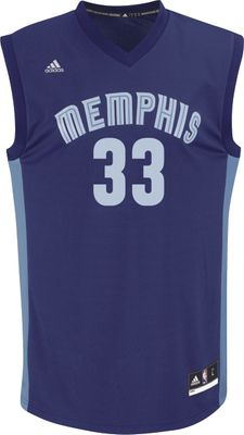 adidas NBA MEMPHIS GRIZZLIES Basketballtrikot Herren - GASOL 33 – Bild 1