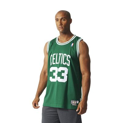 adidas BOSTON CELTICS Basketballtrikot Herren grün - BIRD 33