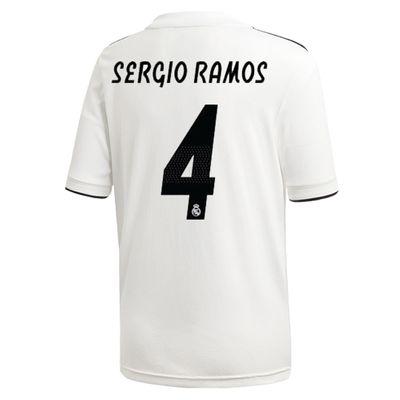 adidas REAL MADRID Trikot Home Herren 2018 / 2019 - SERGIO RAMOS 4 – Bild 2