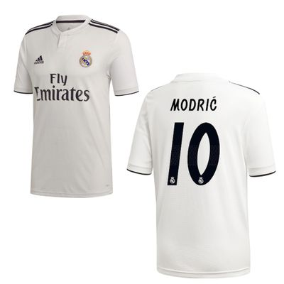 adidas REAL MADRID Trikot Home Kinder 2018 / 2019 - MODRIC 10 – Bild 1