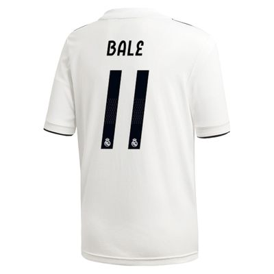 adidas REAL MADRID Trikot Home Kinder 2018 / 2019 - BALE 11 – Bild 2