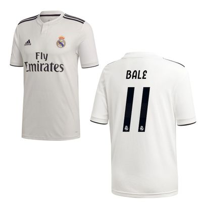 adidas REAL MADRID Trikot Home Kinder 2018 / 2019 - BALE 11 – Bild 1
