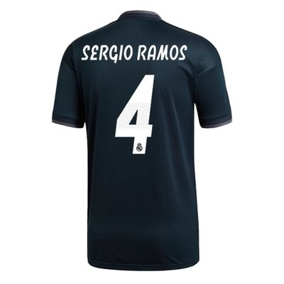 adidas REAL MADRID Trikot Away Kinder 2018 / 2019 - SERGIO RAMOS 4 – Bild 2