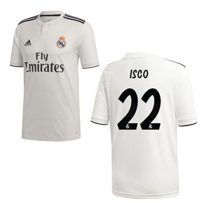 adidas REAL MADRID Trikot Home Kinder 2018 / 2019 - ISCO 22 – Bild 1