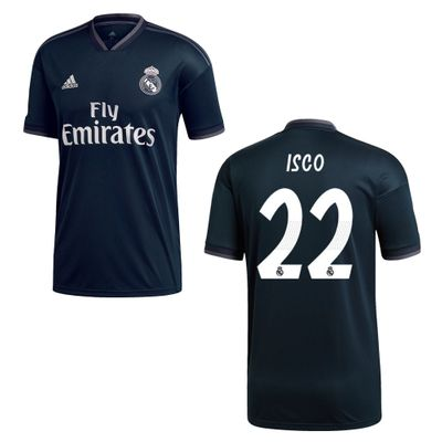 adidas REAL MADRID Trikot Away Herren 2018 / 2019 - ISCO 22 – Bild 1