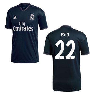 adidas REAL MADRID Trikot Away Kinder 2018 / 2019 - ISCO 22 – Bild 1