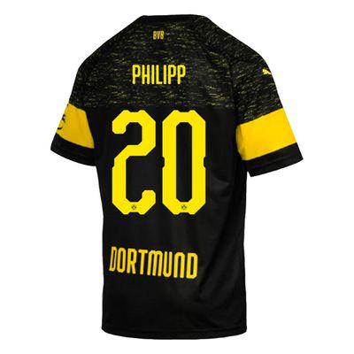 puma BVB BORUSSIA DORTMUND Trikot Away Herren 2018 / 2019 - PHILIPP 20 – Bild 2