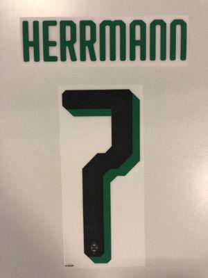 Original Borussia Mönchengladbach Trikot-Flock 20cm - HERRMANN 7