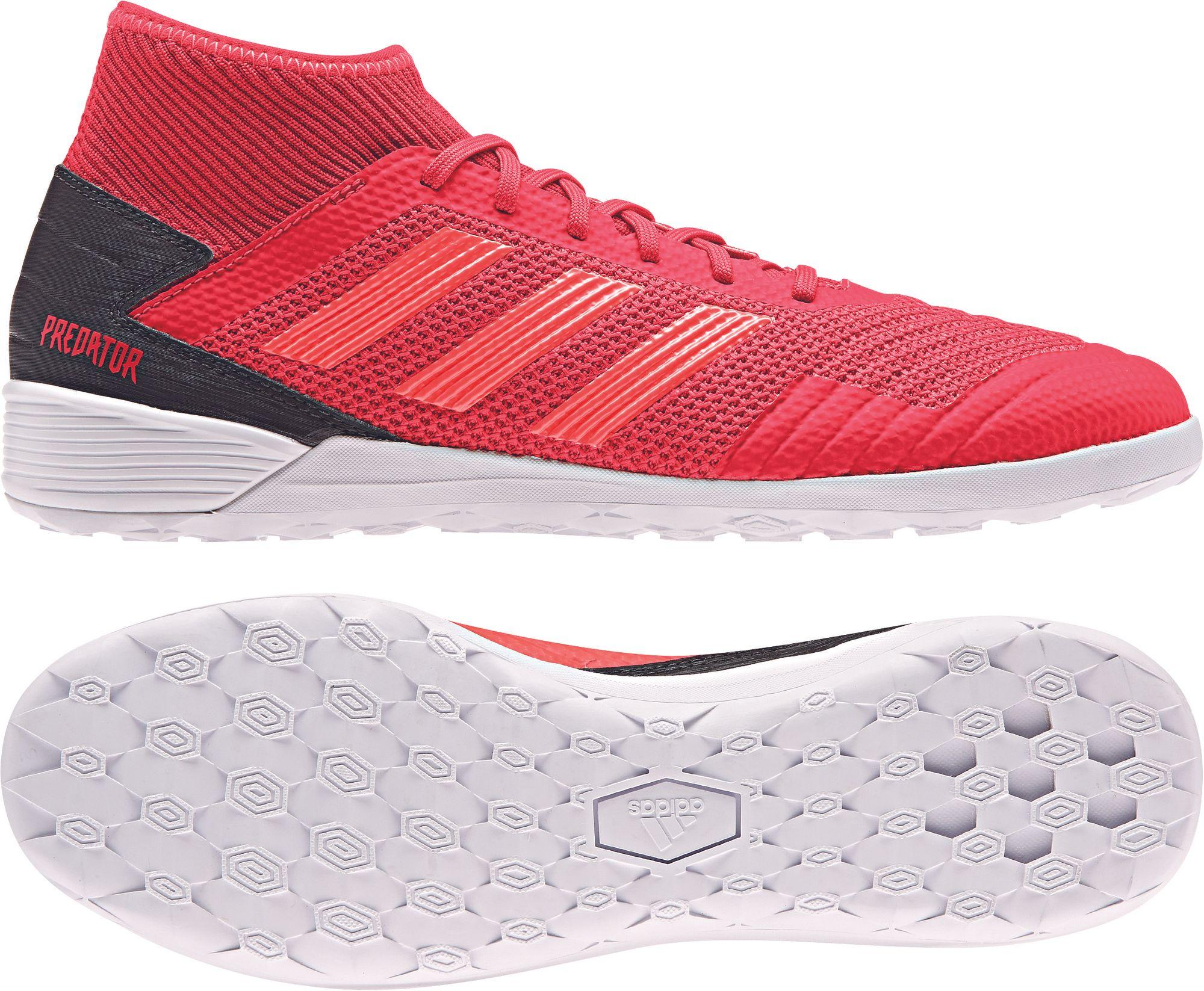 adidas PREDATOR 19.3 IN Hallenschuh rot-schwarz Schuhe Fußballschuhe ... fc4c344abe