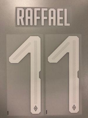Original Borussia Mönchengladbach Trikot-Flock 25cm - RAFFAEL 11