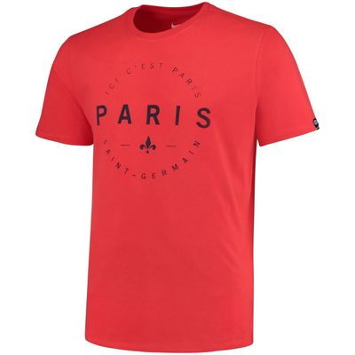 nike PSG PARIS SAINT-GERMAIN Fan T-Shirt Herren rot