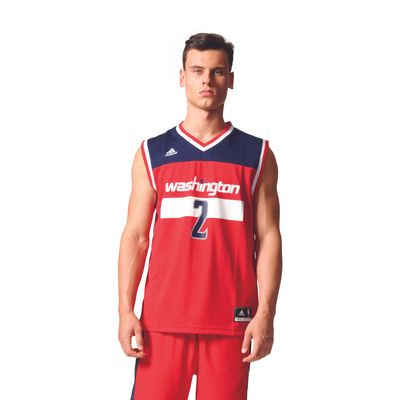 adidas NBA WASHINGTON WIZARD Basketballtrikot Herren - WALL 2 – Bild 2