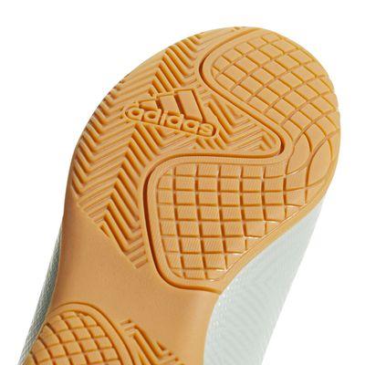 adidas NEMEZIZ TANGO 18.4 IN Hallenschuh Kinder hellgrau – Bild 3