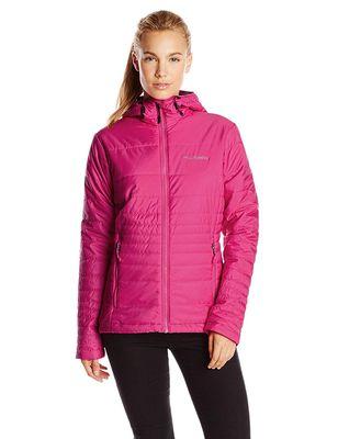 columbia GO TO Hooded Jacke Frauen pink
