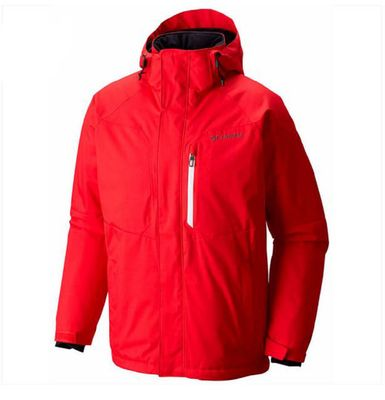 columbia ALPINE ACTION Jacke Herren rot
