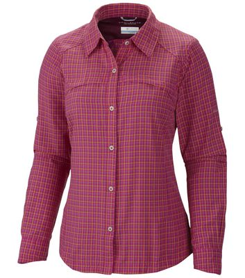 columbia SILVER RIDGE PLAID Hemd Frauen pink