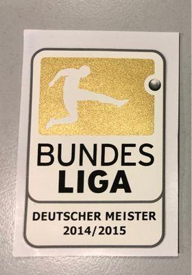 Original DFL Bundesliga Meisterlogo Erw. 2014/2015 FC Bayern München – Bild 1