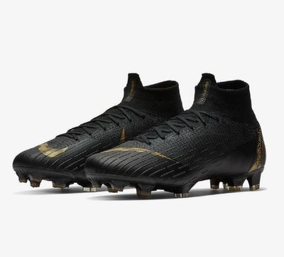 nike SUPERFLY 6 ELITE FG schwarz-gold