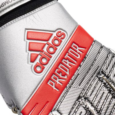 adidas PREDATOR COMPETITION TW-Handschuh silber-rot – Bild 4