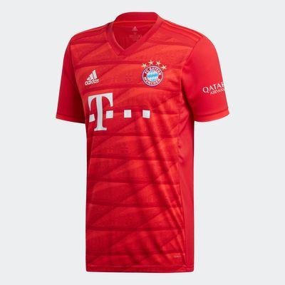 adidas FC BAYERN MÜNCHEN Trikot Home Kinder 2019 / 2020 - GORETZKA 18 – Bild 4