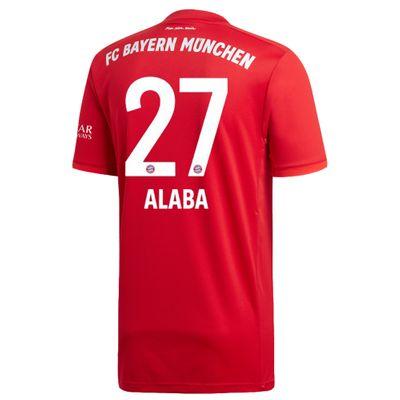 adidas FC BAYERN MÜNCHEN Trikot Home Herren 2019 / 2020 - ALABA 27 – Bild 2