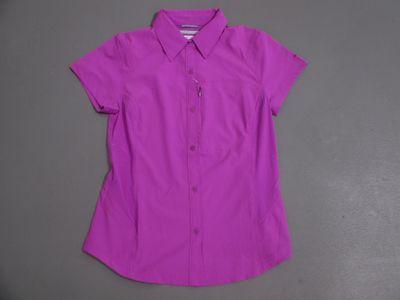columbia SILVER RIDGE SHORT SLEEVE Hemd Frauen pink
