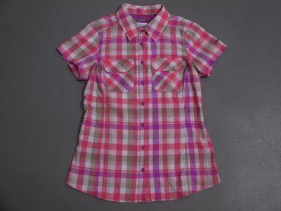 columbia SATURDAY TRAIL III PLAID Hemd Frauen rosa